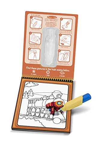 Melissa & Doug Water Wow Coloring Book – Vehicles