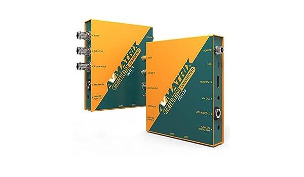 Amazon com: LILLIPUT AVMATRIX SC1120 3G-SDI to HDMI & AV