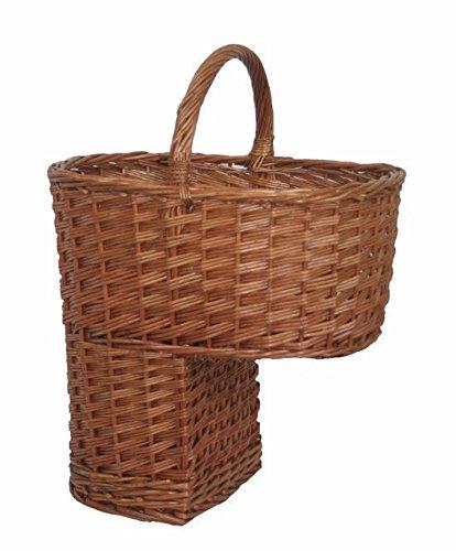 Stair Basket Wicker Basket