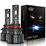 CougarMotor LED Headlight Bulbs All-in-One Conversion Kit - 9006-10000Lm 6000K Cool White CREE