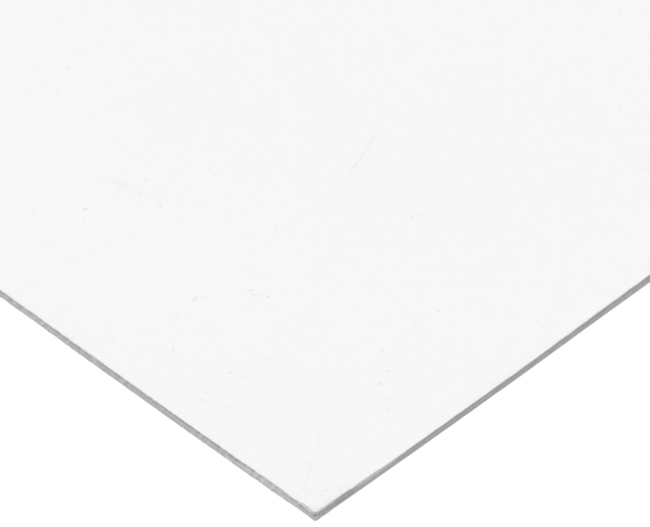 PVC (Polyvinyl Chloride) Shim Stock, Flat Sheet,  Clear, 0.040'' Thickness, 10'' Width, 20'' Length (Pack of 3) by Small Parts