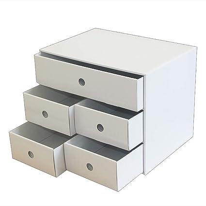 Caja De Almacenamiento De Escritorio Tipo De Mesa CajóN, Diy Papel ...