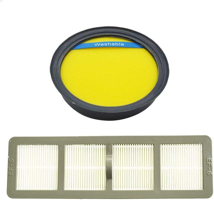 EF-6 69963 83091-1 4-Pack HEPA Filter for Eureka AirSpeed MyVac Series Vacuum