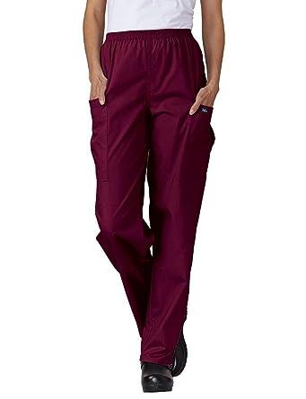 604f839586a Amazon.com: Tafford Essentials Elastic Waist Unisex Cargo Scrub Pant:  Clothing