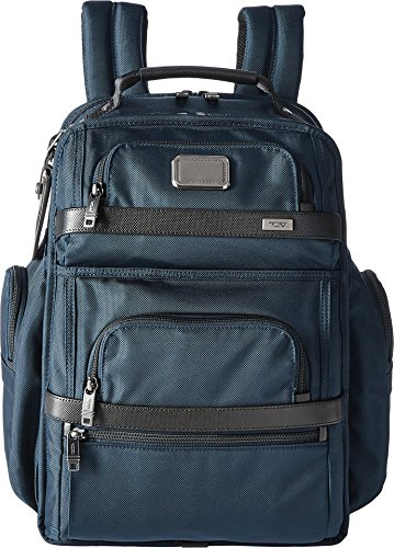 Tumi Alpha 2 T-Pass Business Class Brief Pack Backpack, Navy/Black, One Size by Tumi