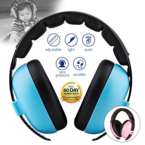 Baby Noise Cancelling HeadPhones, Baby Earmuffs, Baby Headphones, Baby Ear Protection, Baby headphones noise reduction, - Kids Banz