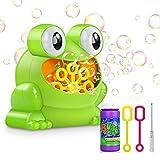 Tencoz Bubble Machine, Automatic Bubble Maker Blower with A Bottle of Bubble Solution