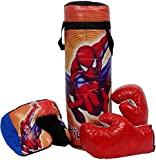 shriboosji Kid's Cotton Boxing Punching Bag (1kg, Red, Black and Blue)