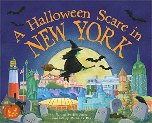 A Halloween Scare in New York by Eric James (2014-08-01) (Halloween Stores New York)