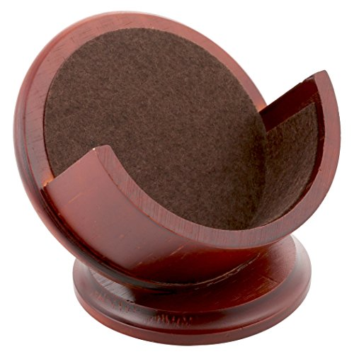 Thirstystone Pedestal Coaster Holder, Cherry