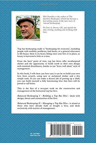 Balanced Beekeeping I: Building A Top Bar Hive: Philip Chandler:  9781291620399: Amazon.com: Books