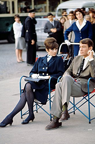 Hepburn, Audrey In The How To Steal A Million On The Set 8 X 10 Photo