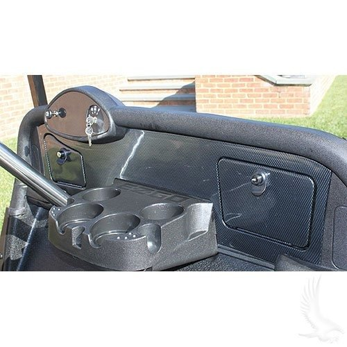 Carbon Dash Insert - EZGO RXV Golf Cart Custom Dash - Carbon Fiber