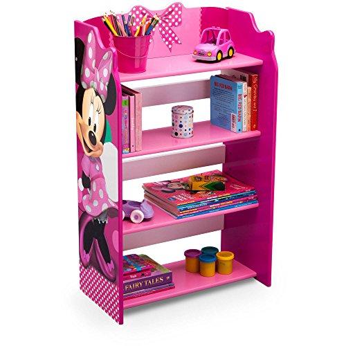 Delta Disney Kids Adorable Corner Adjustable Bookshelf Organizer
