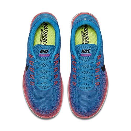 Nike Womens Free Rn Distance 2 Scarpa Da Corsa Blu Laguna / Nero / Viola Persan