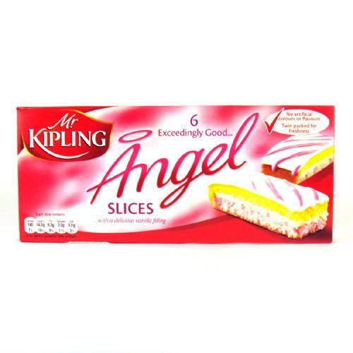 Mr Kipling Cakes - Angel Slices - 6 Pack by Mr. Kipling