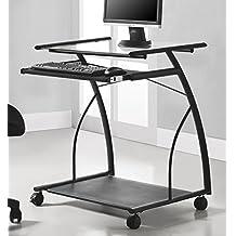 Ameriwood Home 9378196 Sheldon Mobile Computer Desk, Black
