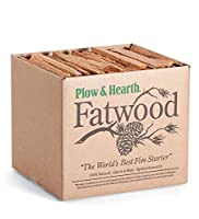 Plow & Hearth Boxed Fatwood Fire Sta...