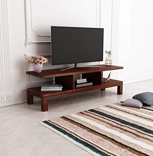 Home Edge Sheesham Solid Wood Calai Tv Unit