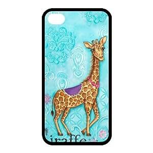 Custom Giraffe Back Case for iphone4,4S JN4S-195
