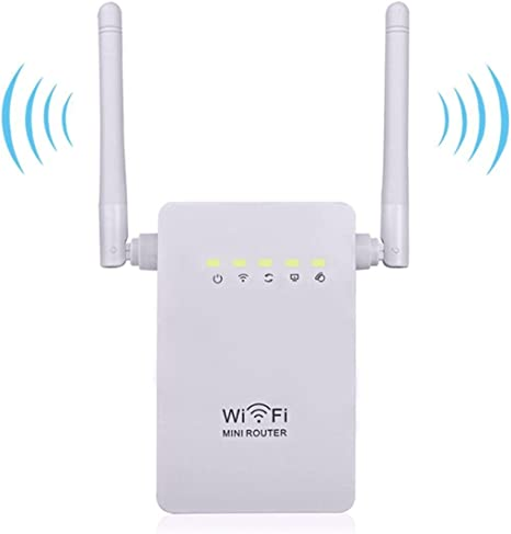 300Mbps Wireless-N Range Extender WiFi Repeater Signal Booster Network Router tF