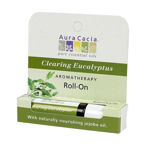 Aura Cacia Purifying Eucalyptus Stick, 0.29 Fluid Ounce (Aromatherapy Stick Purifying Eucalyptus)