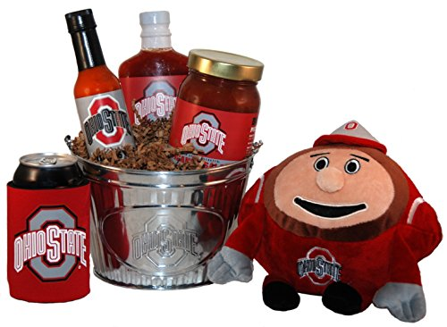 Ohio State University Tailgate Grilling Gift Basket - Large