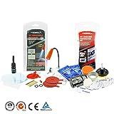 Windscreen Windshield repair kit Glass Restore tool and Headlamp Restoration kit for Scratch repair and Headlight Clean
