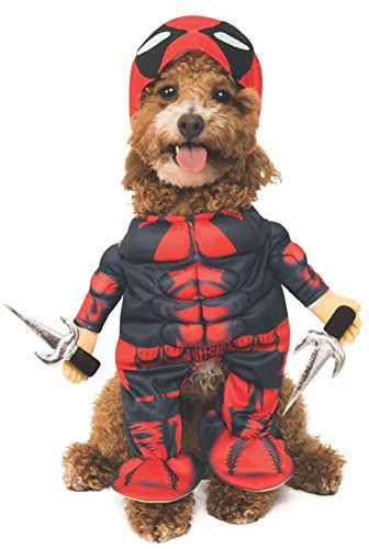 Rubie's Marvel Deadpool Pet Costume, Medium -