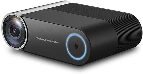 Wakaa 1280x720 2400LM Mini proyector LED de Cine en casa ...
