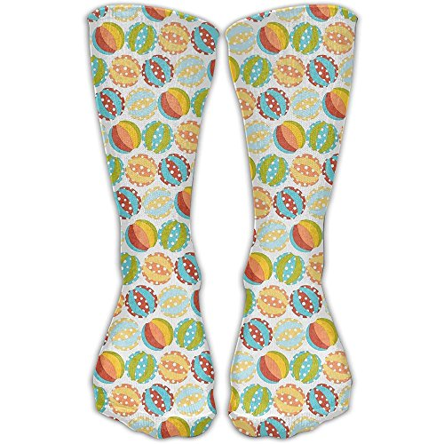 Colorful Background Women & Men Socks Soccer Sport Tube Stockings Length 30cm -