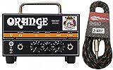 Orange Micro Dark Mini Valve Hybrid 20 Watt Guitar Amp Head w/Effin Tweed Cable