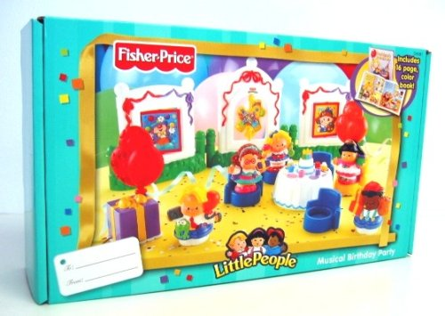 Fisher Price Little People Musical Birthday Party Playset