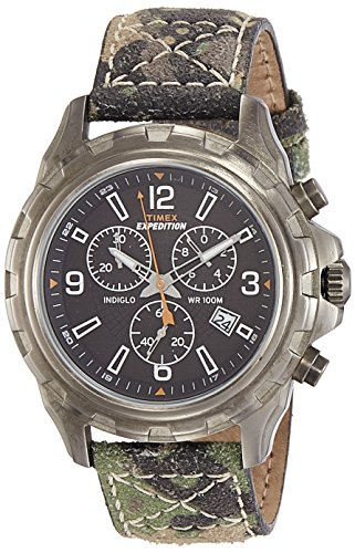 Timex Expedition Analog Black Dial Men #39;s Watch   T49987