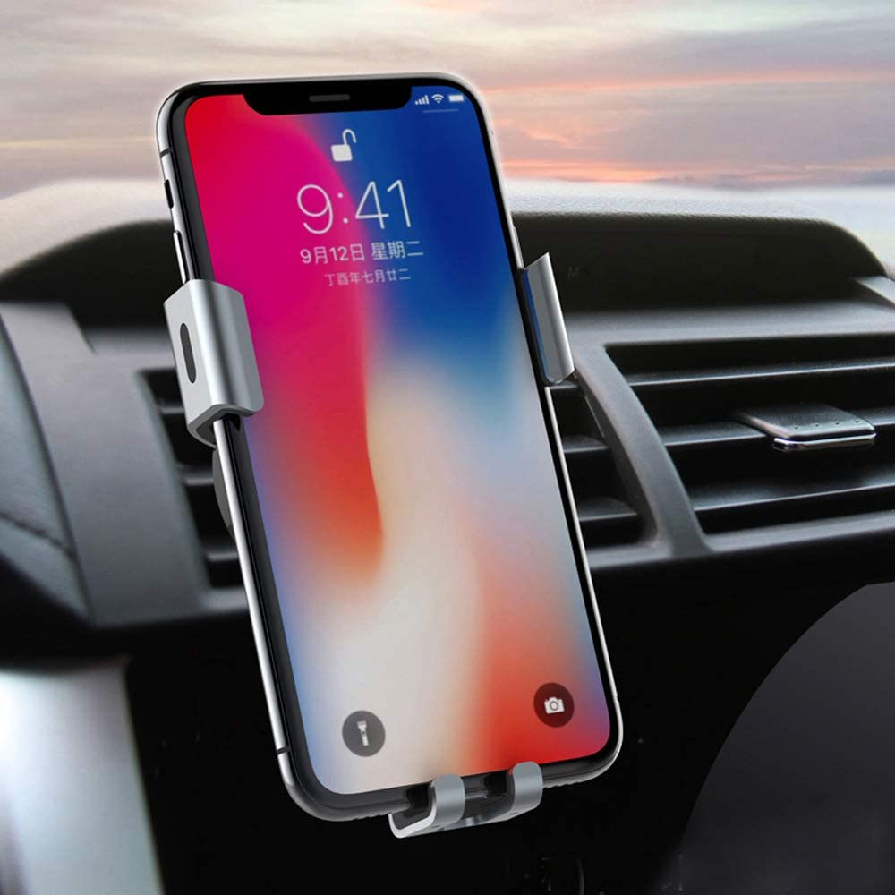 MayWays Wireless Car Charger Samsung Galaxy S10//S9//S9 //S8//S8 //S7 10W Qi Fast Charging Auto-Clamping Car Mount Windshield Dash Air Vent Phone Holder Compatible iPhone Xs//Xs Max//XR//X//8//8 Plus//X//XS//XS
