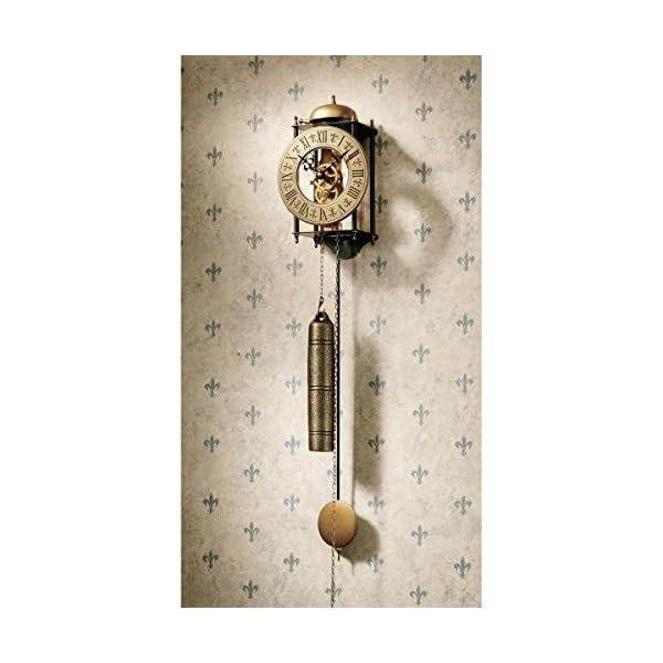 Toscano The Templeton Regulator Steampunk Decor Wall Clock
