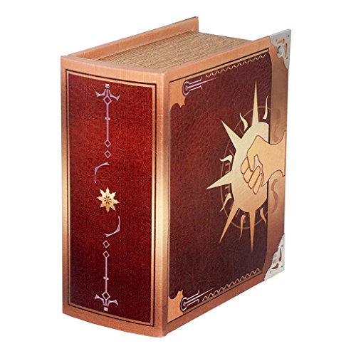 Grimoire Pro Tour, Legion | Wooden Spellbook Style Fabric Lined Portable Deck Box for MTG, Yugioh, and Other TCG | 350+ Card Capacity by Wizardry Foundry