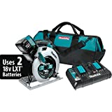 "Makita XSH01PT 18V X2 LXT Lithium-Ion (36V) Cordless 7-1/4"" Circular Saw Kit (5.0Ah)"