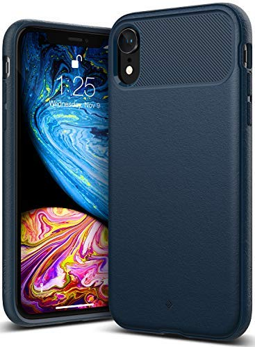Caseology Vault for iPhone XR Cases for iPhone XR Case(2018) - Navy Blue