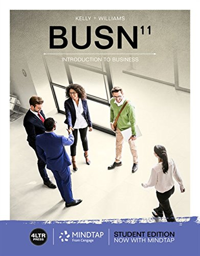 BUSN (with  MindTap Business, 1 Term (6 Months) Printed Access Card) (MindTap Course List)