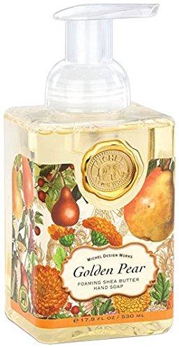 Michel Design Works Foaming Hand Soap, 17.8-Ounce, Golden Pear
