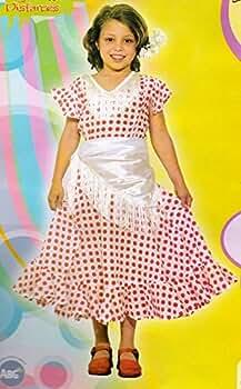 Disfraz Sevillana. Niña. Talla 2/4 años. Contiene: Vestido y ...