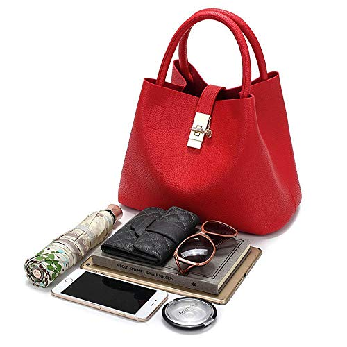 Ultra Leather Female Fashion A Bucket Bao Bag Handbag Bag Slim Hongge Xwx0w
