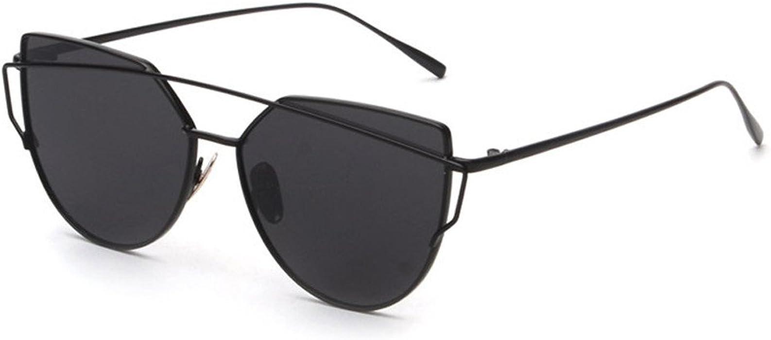 JiaMeng Gafas de sol Gafas de Sol Mujer, Montura clásica de ...