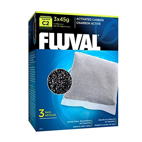 (Fluval C2 Carbon - 3-Pack)