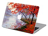 Customized Famous Painting Series the Maple Leaves to Meet Autumn Special Design Water Resistant Hard Case for Macbook Pro 13'' with Cd-rom Drive (Non-retina Display) Model A1278