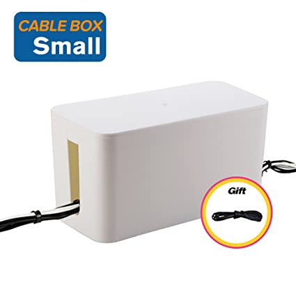Amazon.com: Resulzon Cable Management Cord Cover Wire Hider Box ...