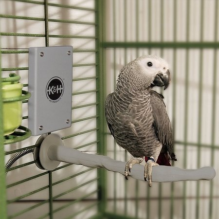 Snuggle Up Bird Warmer Small/medium Gray 5'' X 3'' X 0.5'' by Ware Manufacturing