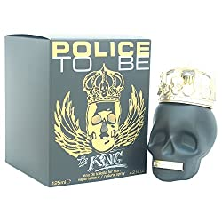 Police To Be The King Eau de Toilette Spray for Men, 4.2 Ounce
