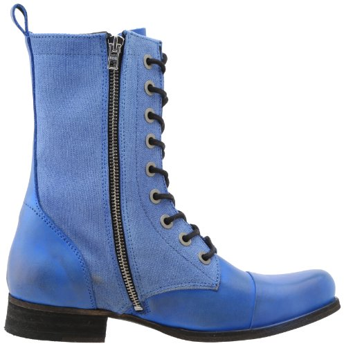 Womens Diesel La Terra Selvaggia Articik Combat Boot True Blue
